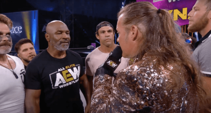 Chris Jericho Discusses Mike Tyson