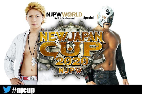 New Japan Cup 2020 Right