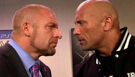 The Rock vs Triple H - Part 2