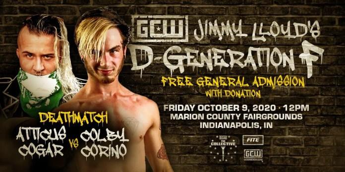 GCW Presents Jimmy Lloyd's Degeneration F