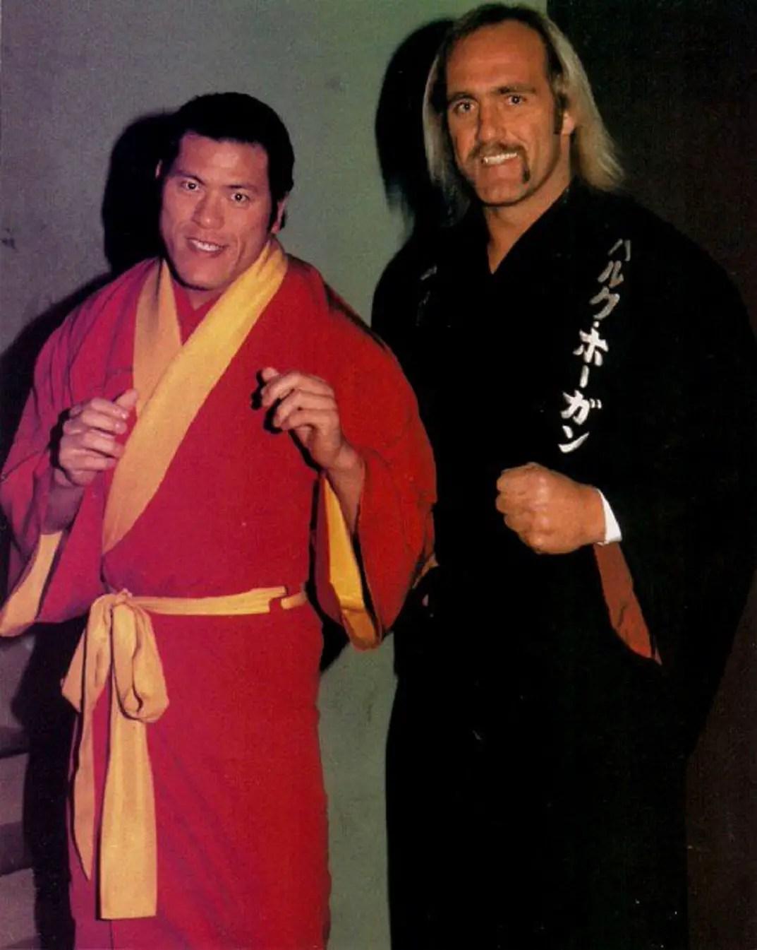 Hulk Hogan wins the IWGP Championship – On This Day -