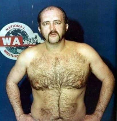 Wrestler Ron Wright