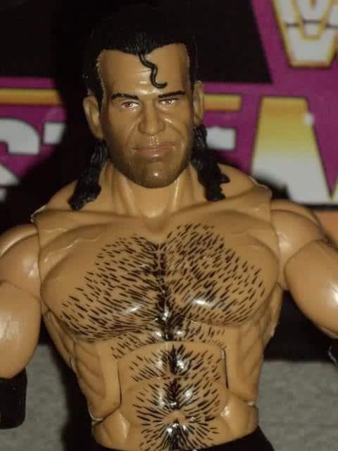 One of Scott Hall's wrestling figures