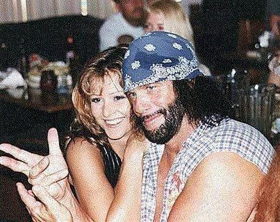 Macho Man Randy Savage and Miss Elizabeth Ann Hulette