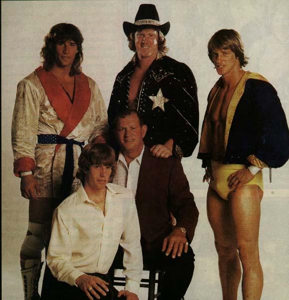 The Von Erichs. Kevin (far right)