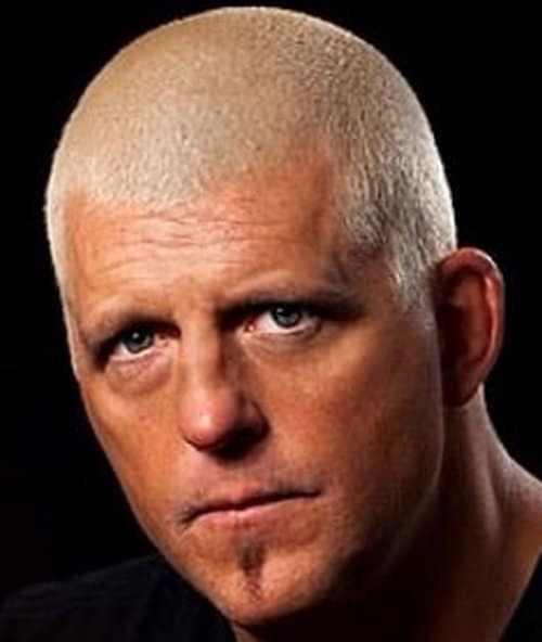 head shot of Dustin Rhodes with no face paint