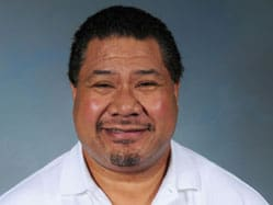 Meng's friendly headshot photo from the car dealership he works at