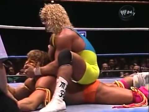 Mr. Perfect pulls a fast one on Ultimate Warrior