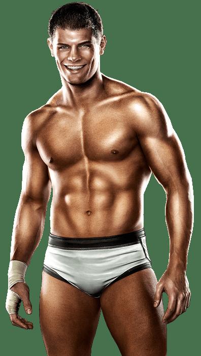 Cody Rhodes forgot to lock the tanning bed door!