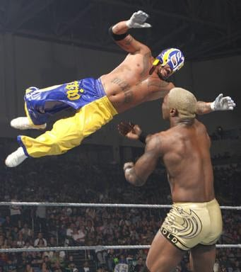 Rey Mysterio and Shelton Benjamin on hijinks on the road