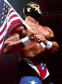 Del Wilkes as The Patriot