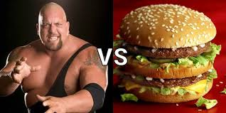 Graphic of Big Show and a Big Mac