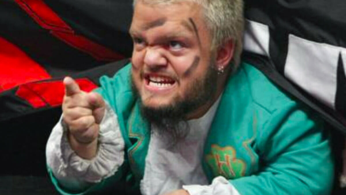 Hornswoggle - The Unlikely Backstage Bully! | ProWrestlingStories.com