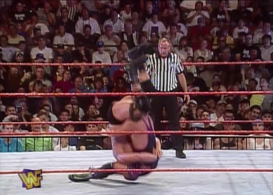 The Hart Driver that almost broke Stone Cold Steve Austins Neck