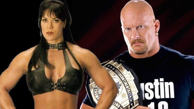 Graphic of Chyna and Steve Austin for Article on the Death of Chyna