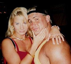 Tammy and Chris during happier times [Photo courtesy of onlineworldofwrestling.com]