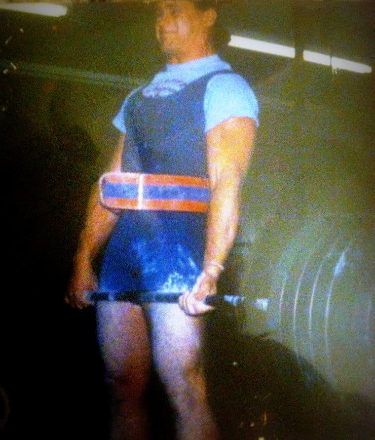 Aside from wrestling, one of Chris Candido's passions was lifting weights.