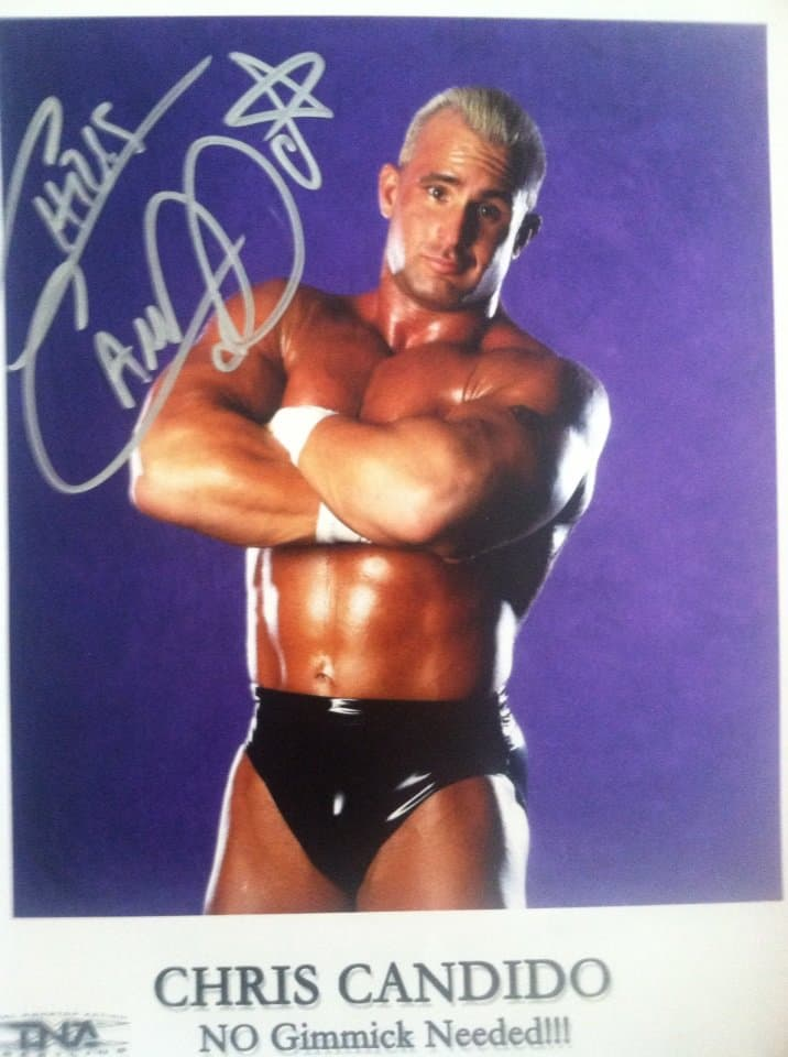 Chris Candido's original TNA 8x10.