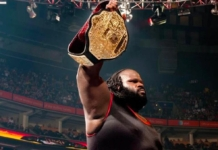 WWE World Heavyweight Champion, Mark Henry.