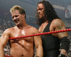 Chris Jericho and the Undertaker in the Ring