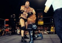 goldberg beats hogan