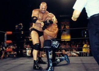 goldberg beats hogan