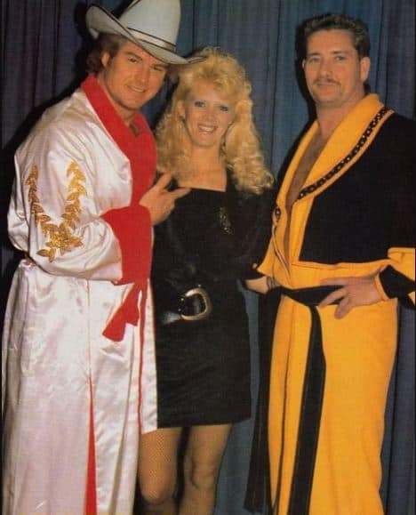 Robert Fuller, his then-wife Sylvia, and Jimmy Golden, late in Continental's run.