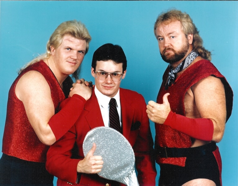 The Midnight Express was Bobby Eaton, Jim Cornette, and founding member, Dennis Condrey.