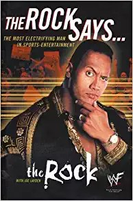 The Rock Says ... Wrestling book Cover