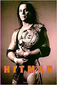 Hitman by Bret Hart wrestling book cover