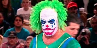 Matt Borne when he played the role of the original Doink The Clown in the WWF