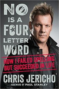 Cover of the newest Chris Jericho Book NO is a FOUR letter Word