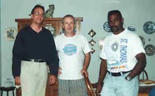 Evan Ginsberg, ,author Jeff Archer, and my dear friend, Tiger Khan