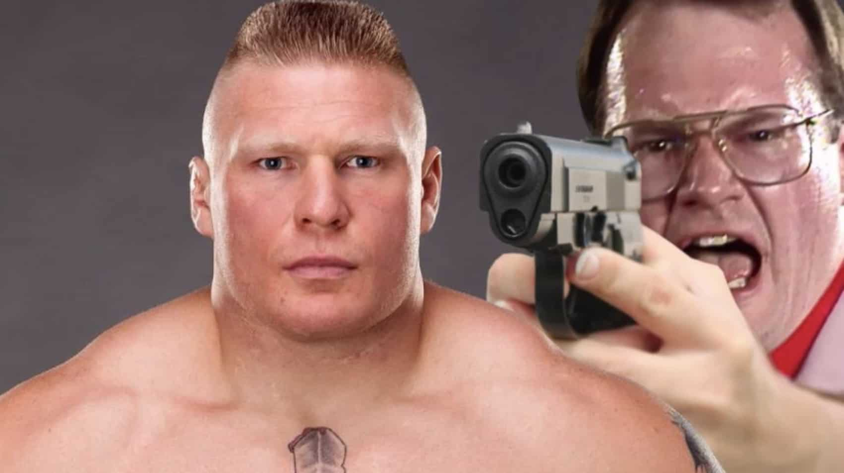 Jim Cornette shares the story of the time he threatened Brock Lesnar with a gun back during Lesnar's OVW days