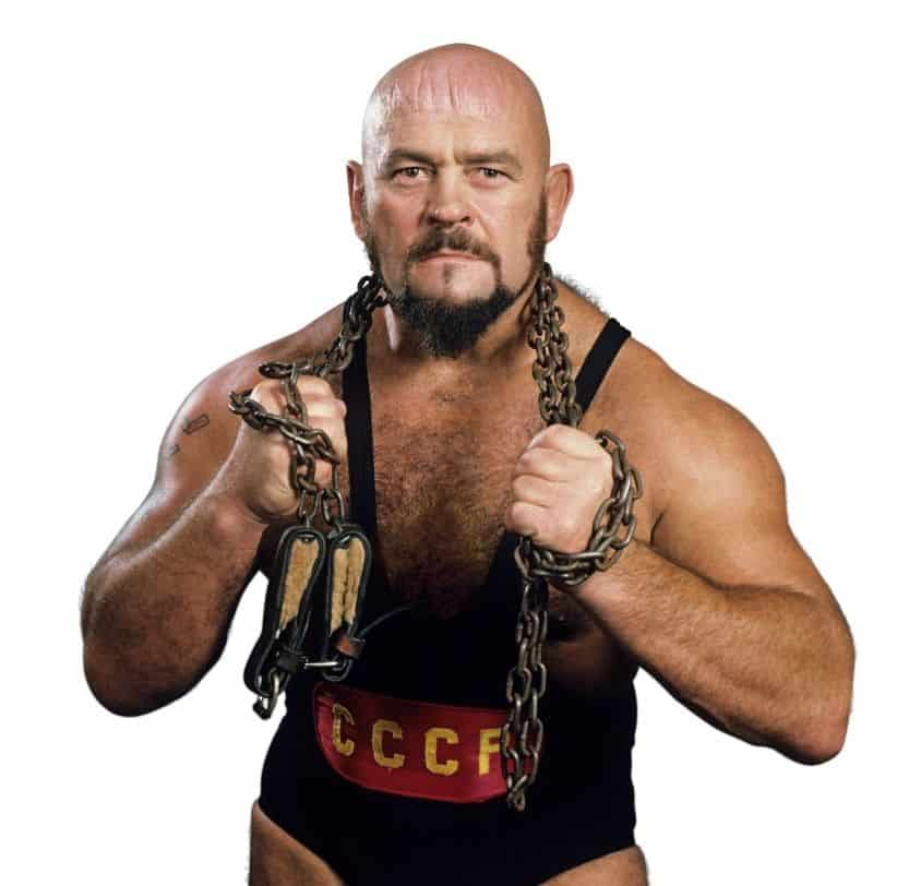 The Russian Bear, Ivan Koloff, the first Canadian world champion in WWE history.