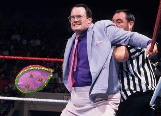 Jim Cornette is No. 2 on our list of greatest managers of all time. Cornette remains a vital part of wrestling history and the wrestling industry overall through his podcasts, The Jim Cornette Experience and Jim Cornette's Drive-Thru. (Photo: WWE.com)