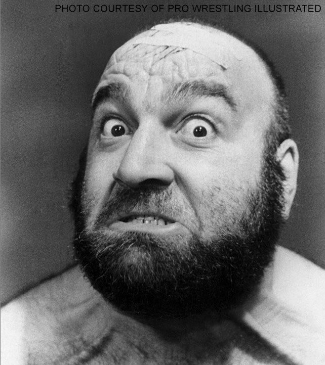 Jos LeDuc, arguably the greatest monster heel of all time.