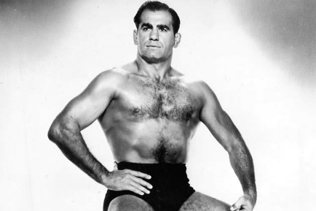 Lou Thesz, one of the most gifted--and tough--professional wrestlers around. [Photo courtesy of Online World of Wrestling]