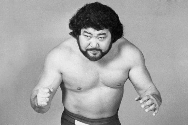 Masa Saito pictured in black and white