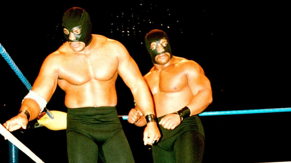 WCW tag team, Doom: Butch Reed and Ron Simmons.
