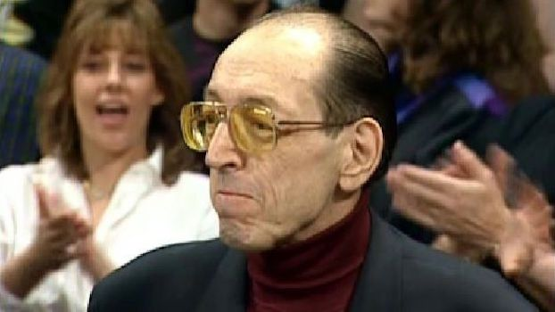 Gorilla Monsoon in his final television appearance at WrestleMania 15, March 28th, 1999.
