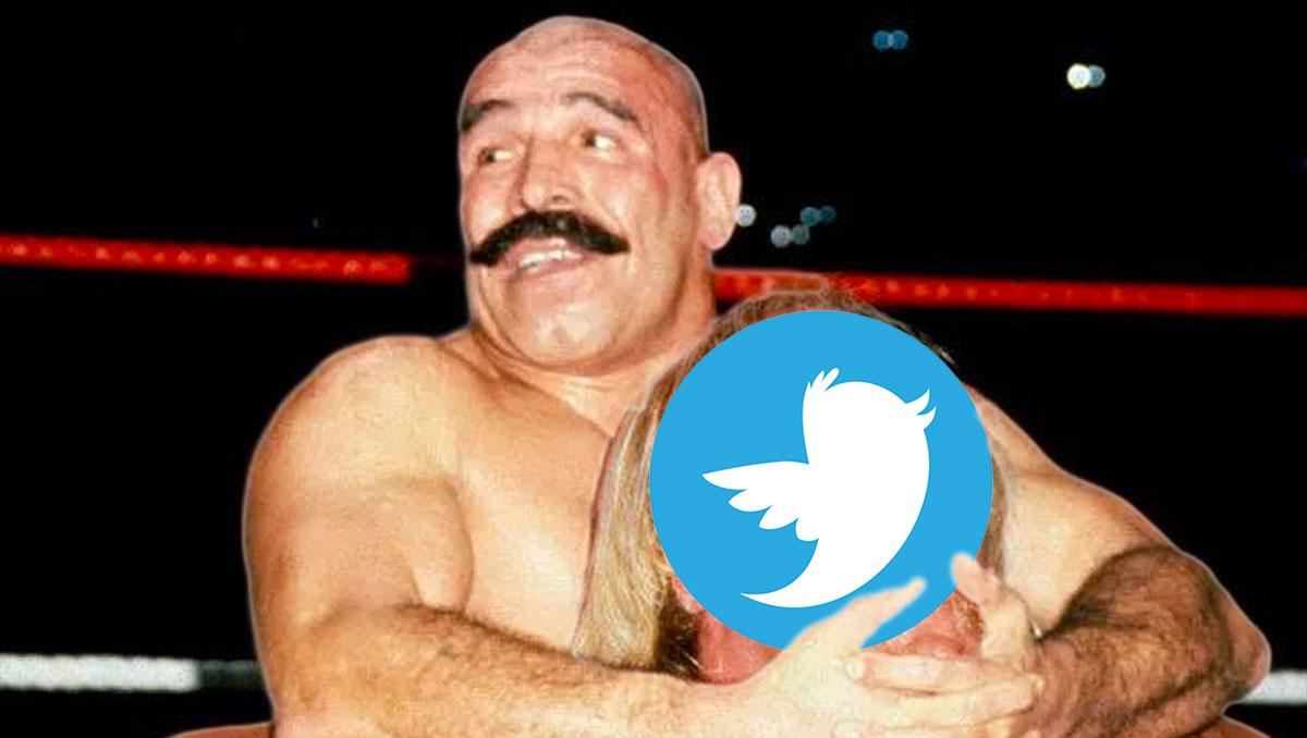 Iron Sheik making Twitter humble!