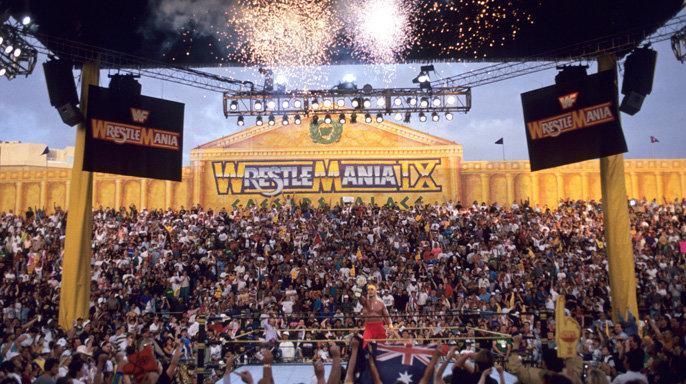WrestleMania 9, where wrestler Brian Adams Crush lost to Doink the Clown