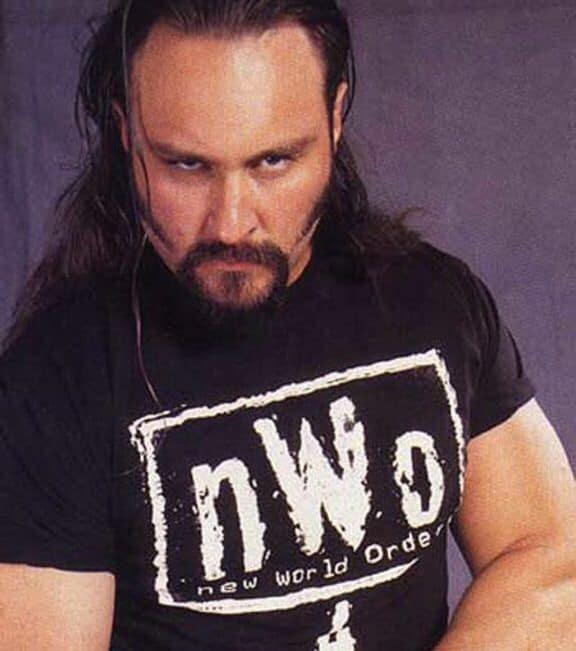 Wrestler Brian Adams in WCW's nWo