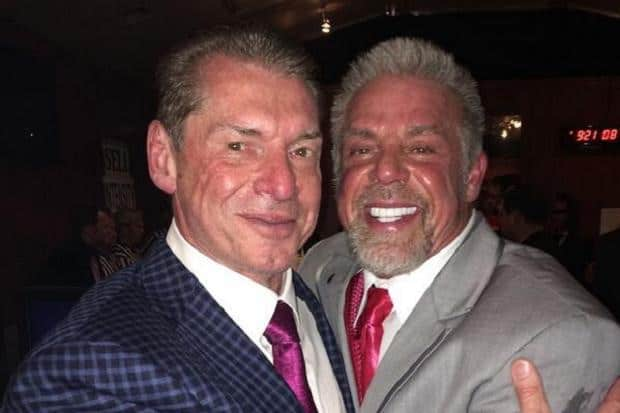 The Iron Sheik -- The Ultimate Warrior hugs Vince McMahon after claiming he would never shake hands with him again
