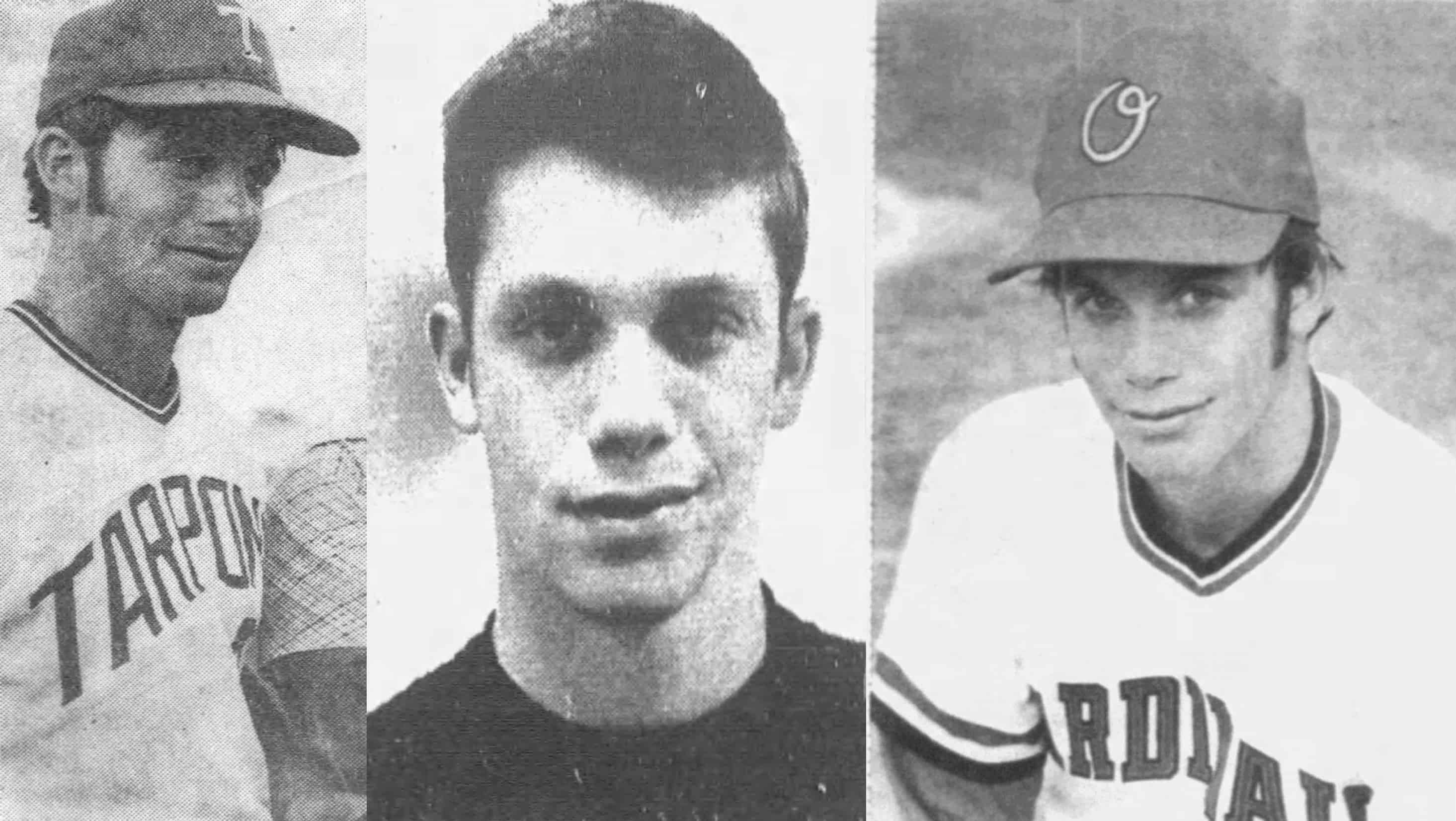 Randy Poffo - Various baseball photos of Randy Savage during his baseball years, from the Tarpons, his high school photo and when he was played for Orangeburg