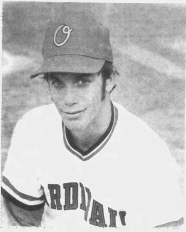 Randy Poffo while on the Orangeburg, South Carolina Cardinals team