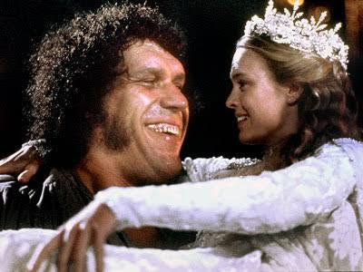 Andre the Giant Documentary | 12 Things Learned (And Facts Left Out!) - Andre with Princess Bride actress Robin Wright