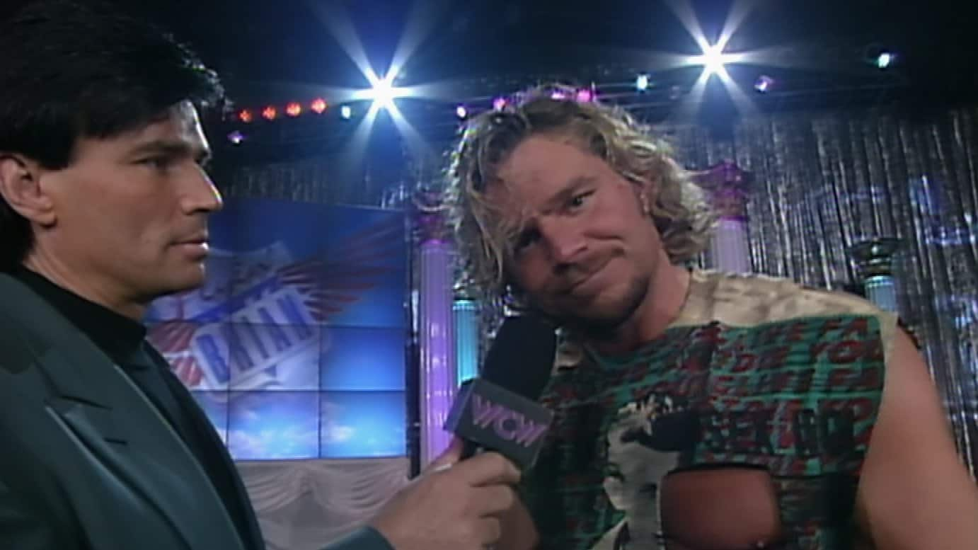 Eric Bischoff and Brian Pillman on WCW Nitro