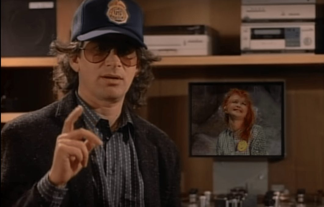 Wrestler cameos in music videos - Steven Spielberg cameos in Cyndi Lauper's 'Goonies R Good For Us' music video